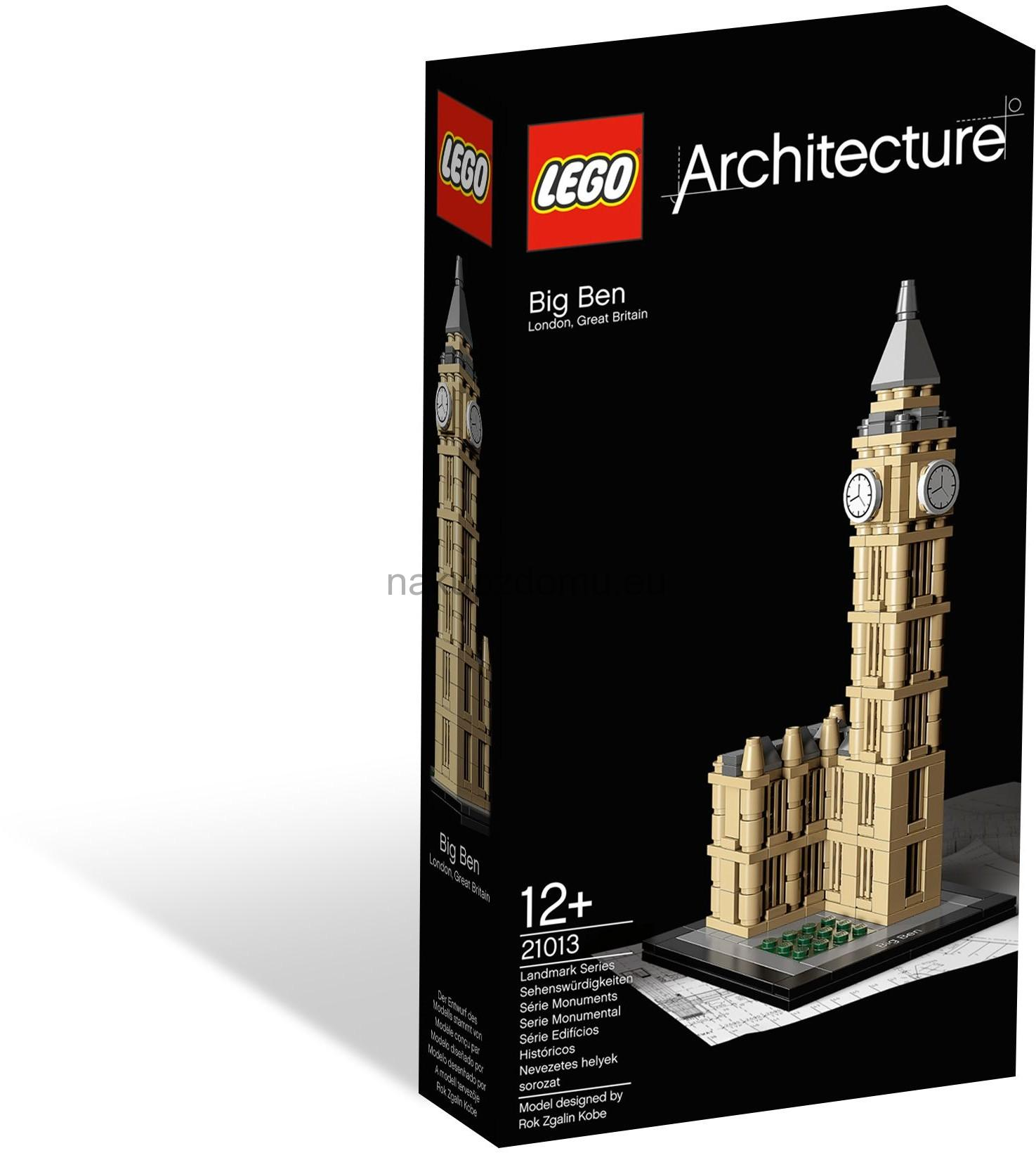 LEGO Architecture 21013 Big Ben - 2.jakost