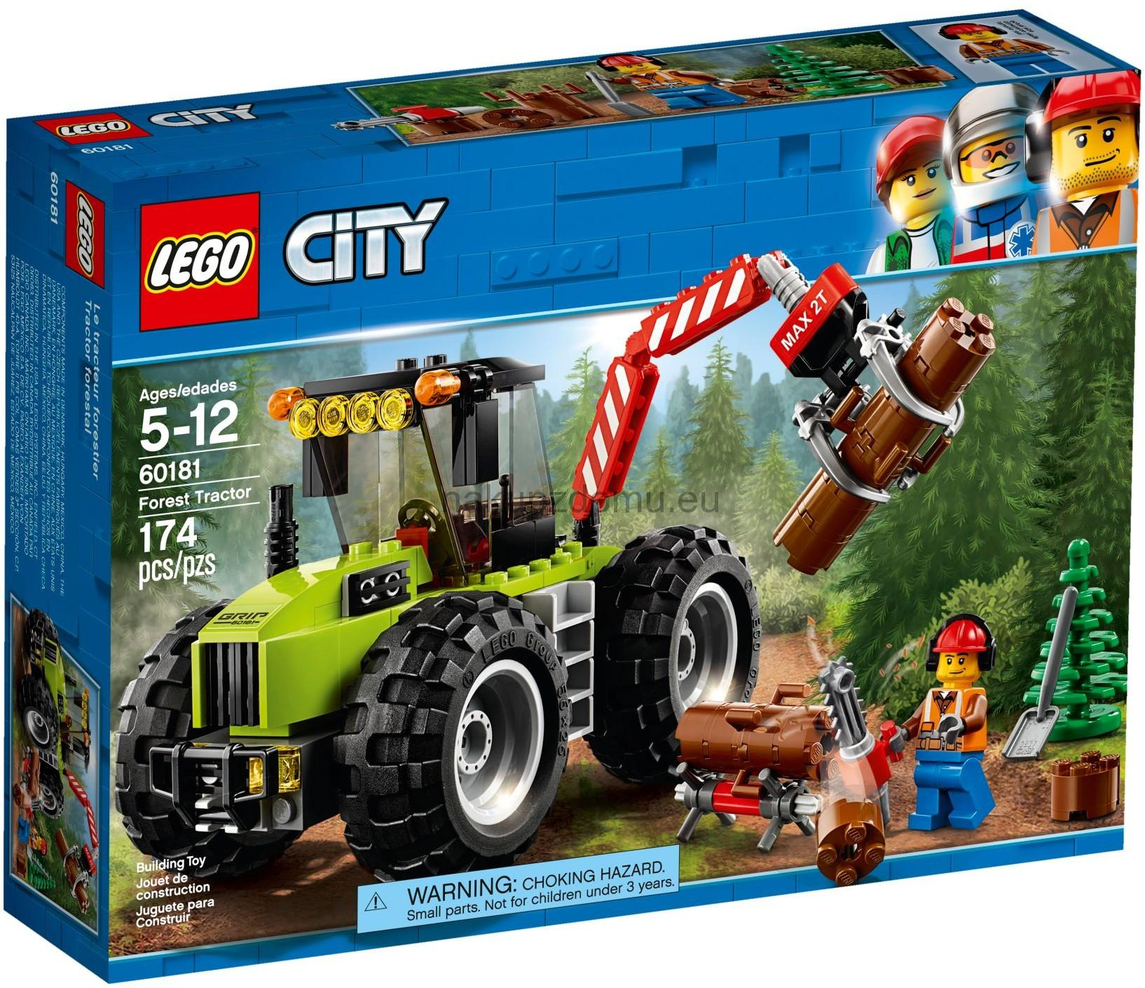 LEGO City 60181 Traktor do lesa