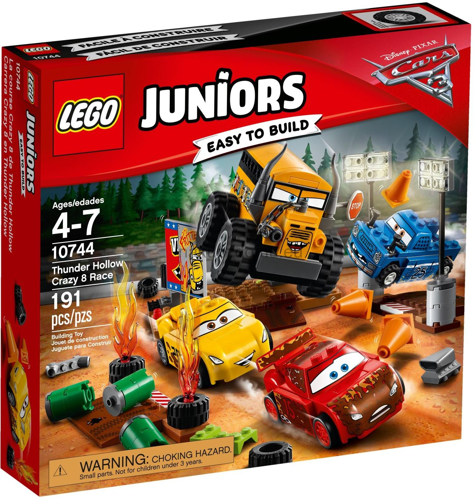 LEGO Juniors 10744 Závod Thunder Hollow Crazy 8