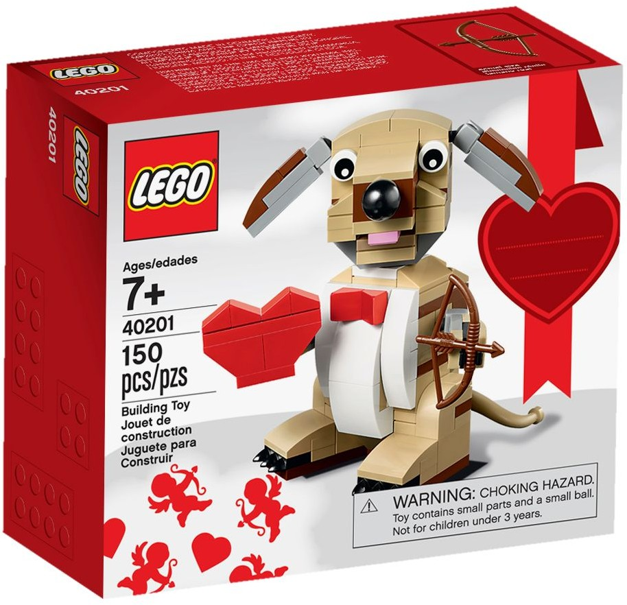 LEGO 40201 Valentines Cupid Dog