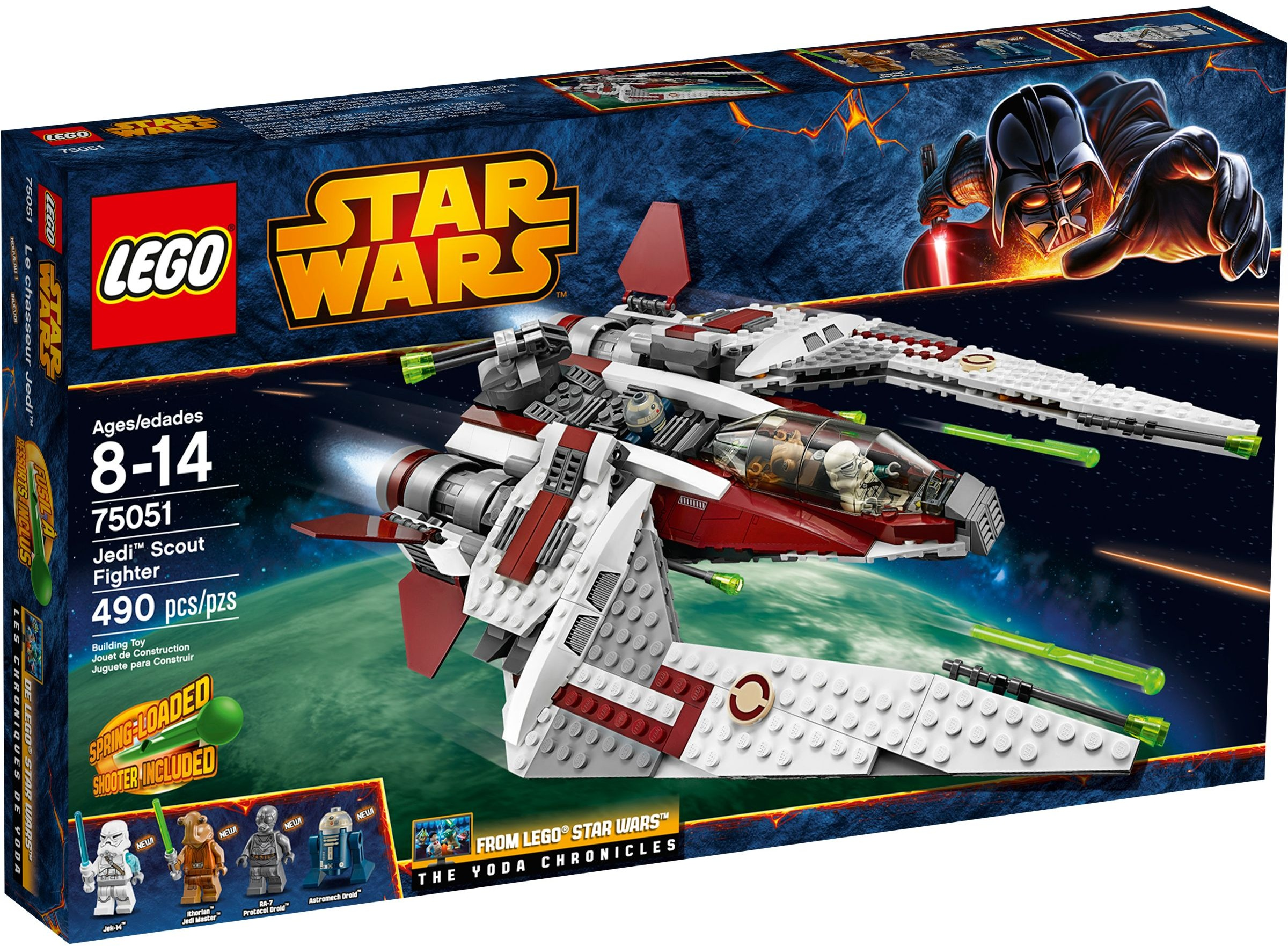 LEGO Star Wars 75051 Jedi scout fighter