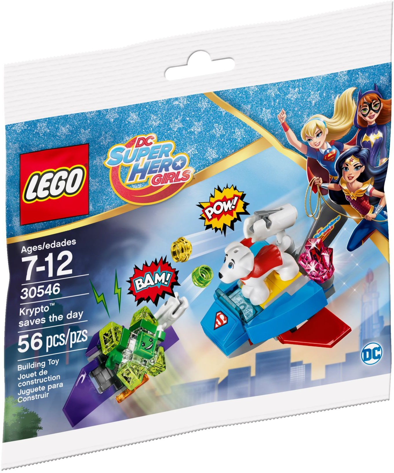 LEGO Super Hero Girls 30546 Krypto zachraňuje situaci