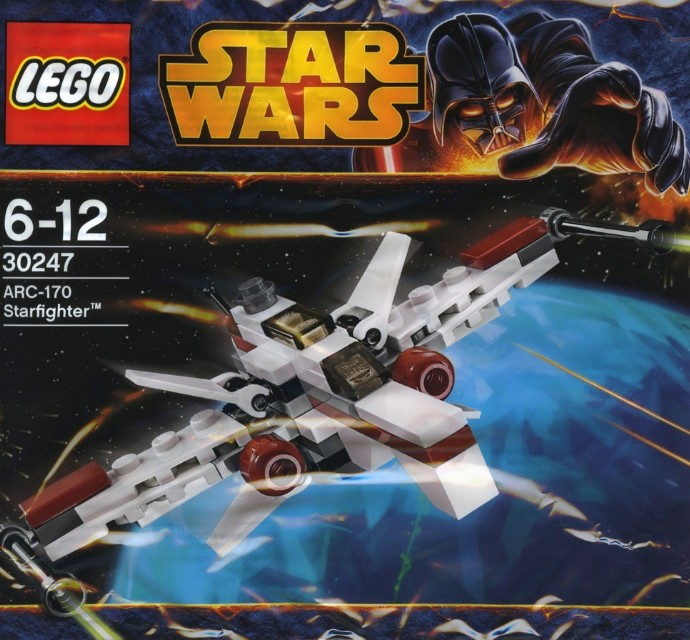 LEGO Star Wars 30247  ARC-170 Starfighter