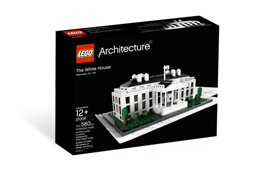 LEGO Architecture 21006 White House - 2.jakost