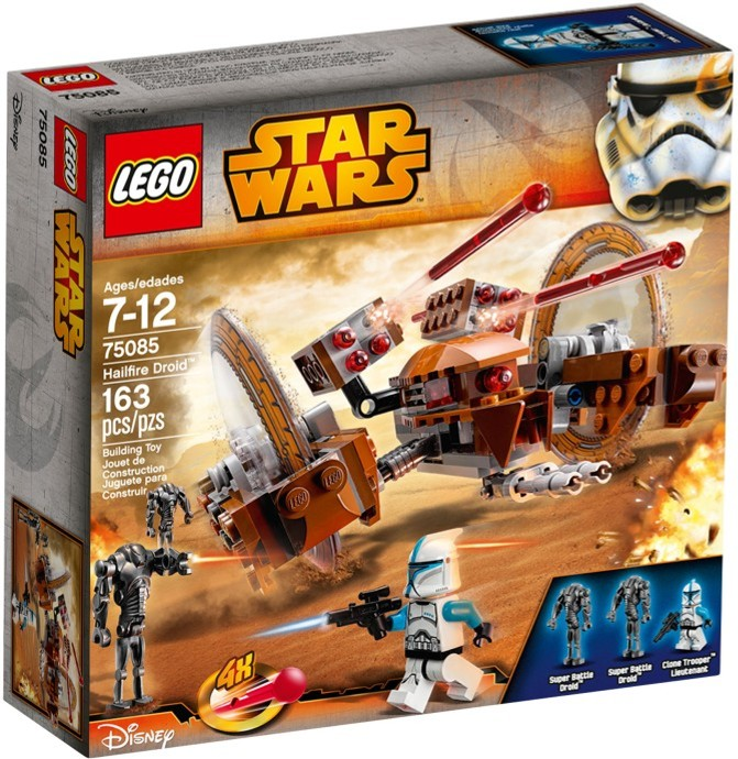 LEGO Star Wars 75085 Hailfire Droid