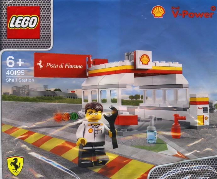 LEGO 40195  Shell Station