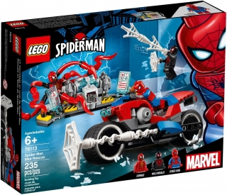 LEGO Super Heroes 76113 Spiderman a záchrana na motorce