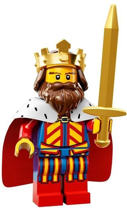 LEGO Minifigurky 71008 série 13-1 (Král)