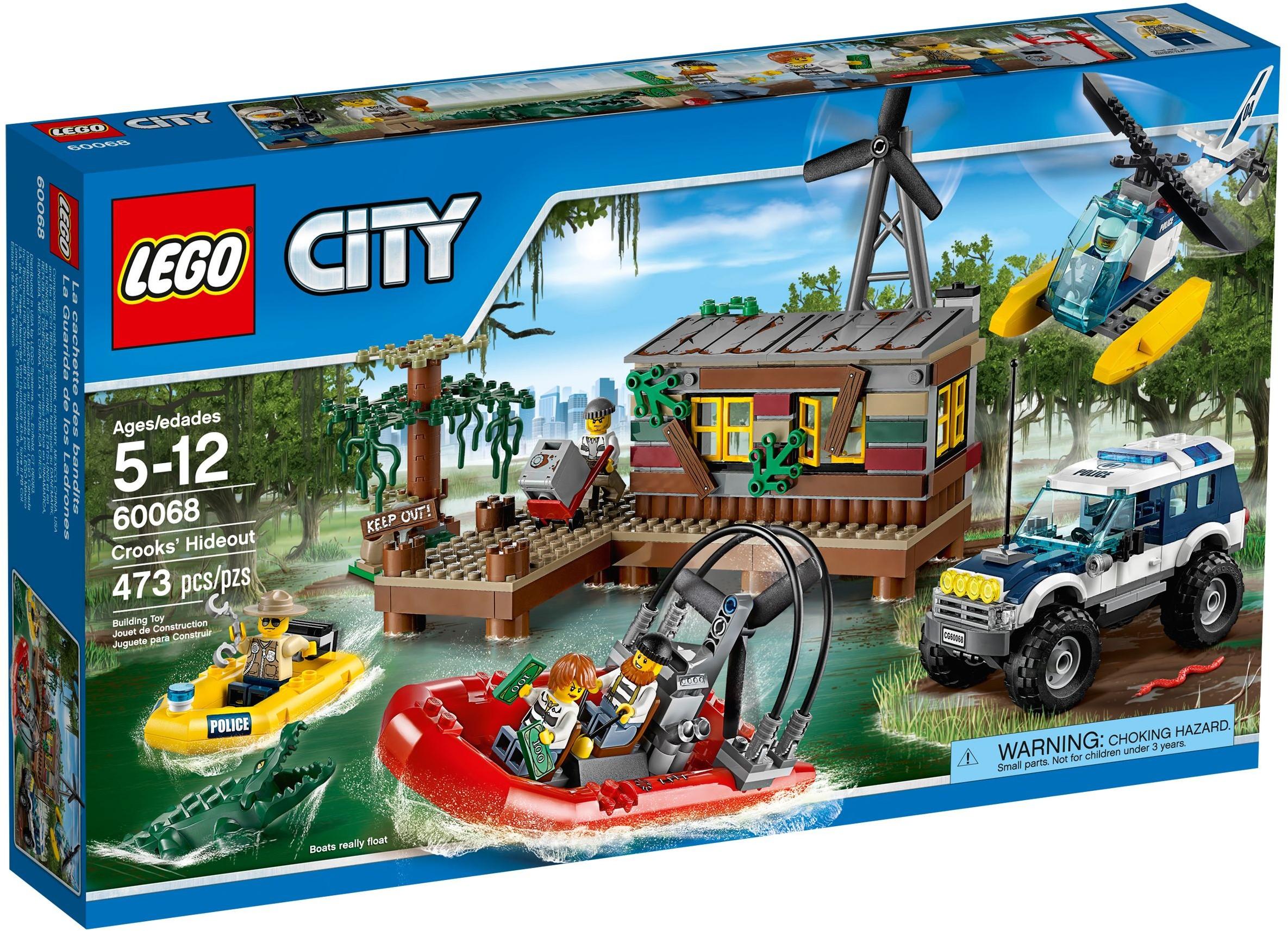 LEGO City 60068 Úkryt zlodějů