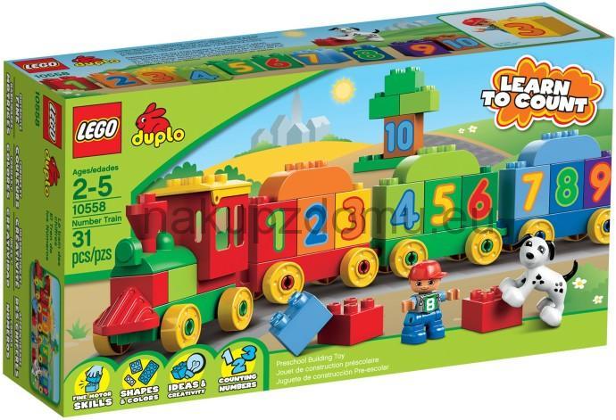 LEGO Duplo 10558 Vláček plný čísel 2.jakost