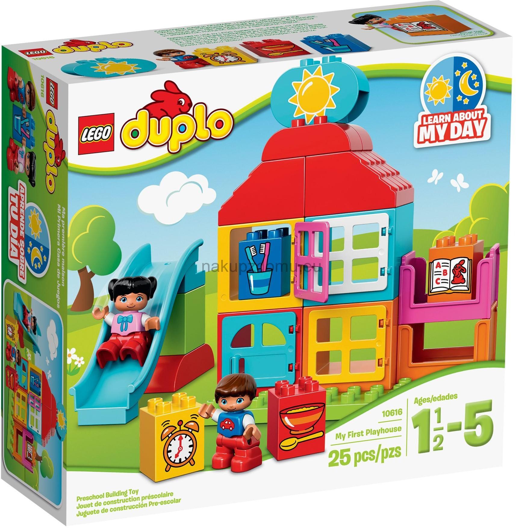 LEGO Duplo 10616 Můj první domeček na hraní -2.jakost