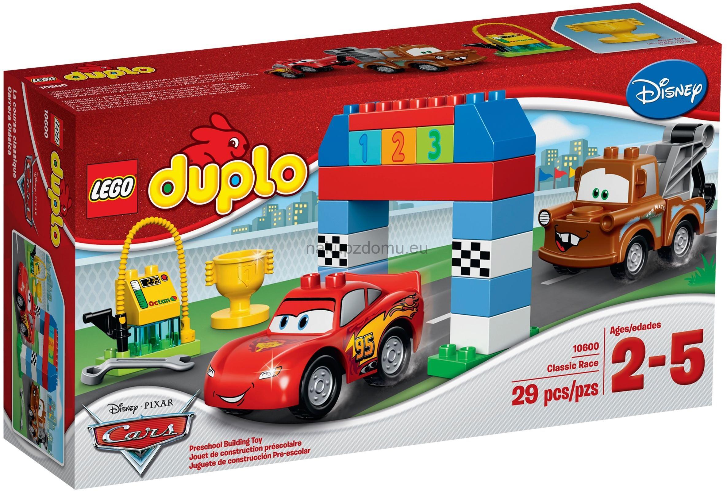 LEGO Duplo Cars 10600 Klasický závod -2.jakost