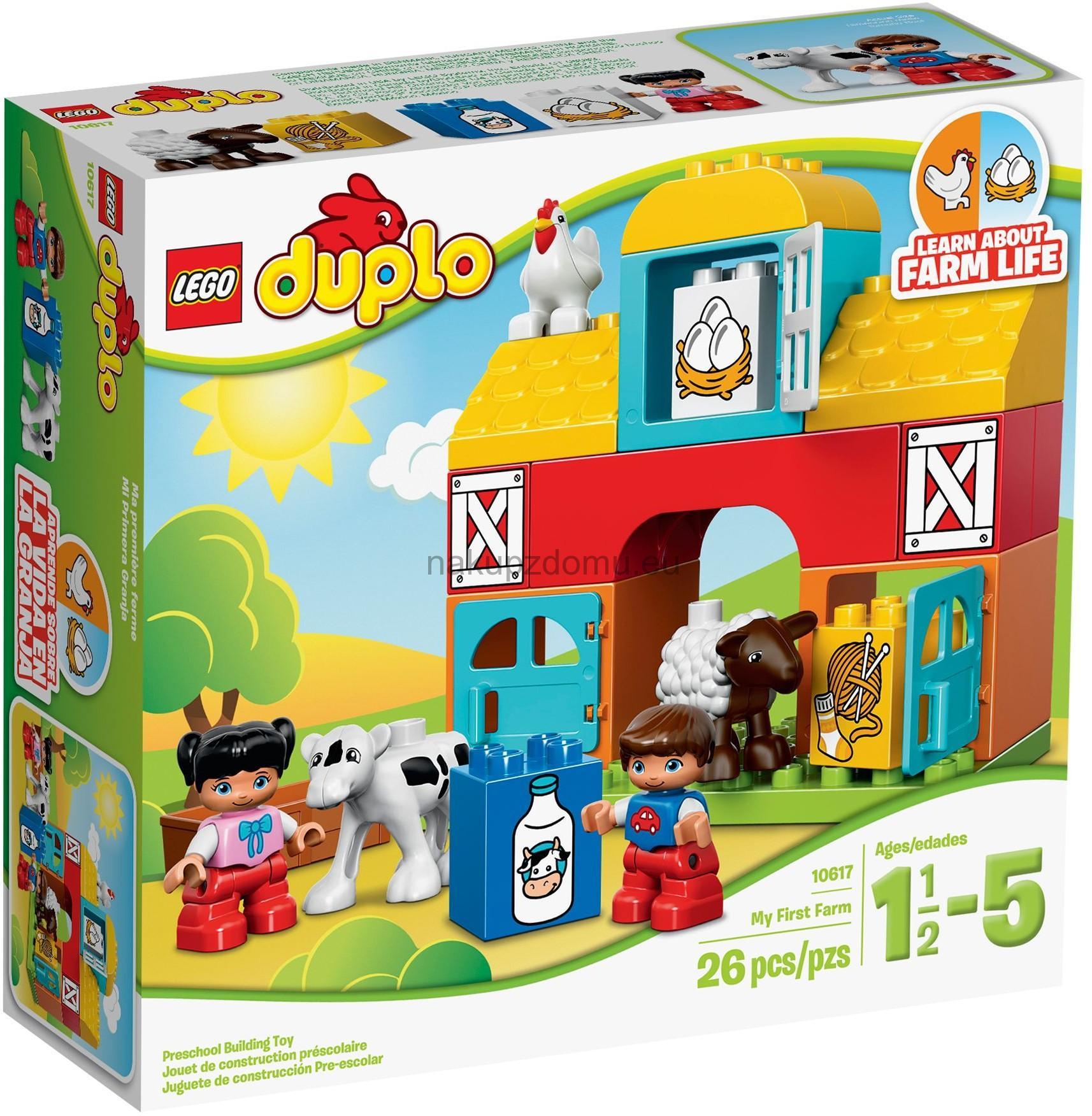LEGO Duplo 10617 Moje první farma -2.jakost