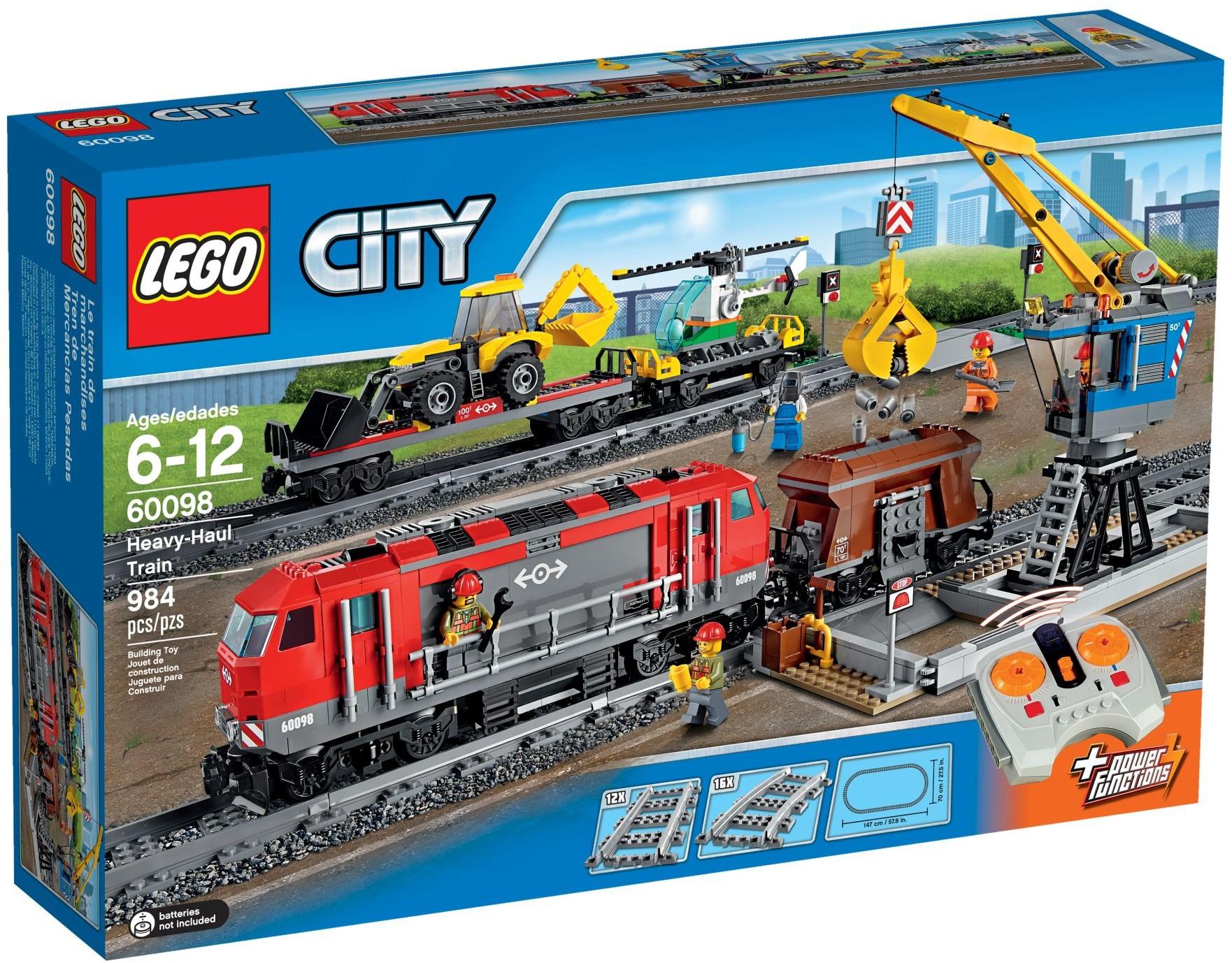 LEGO City 60098 Těžký nákladní vlak
