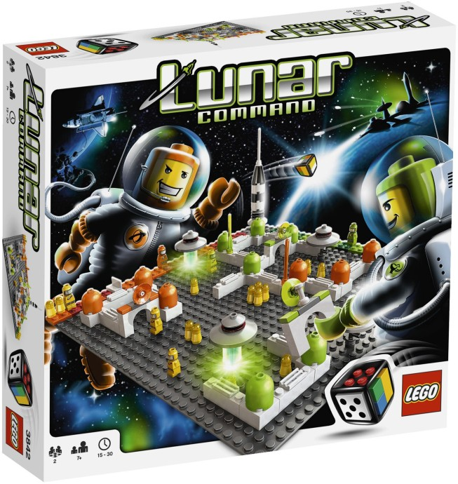 LEGO Stolní hra 3842 Vesmírná stanice