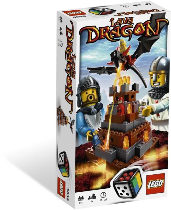 LEGO Stolní hra 3838 Lávový drak