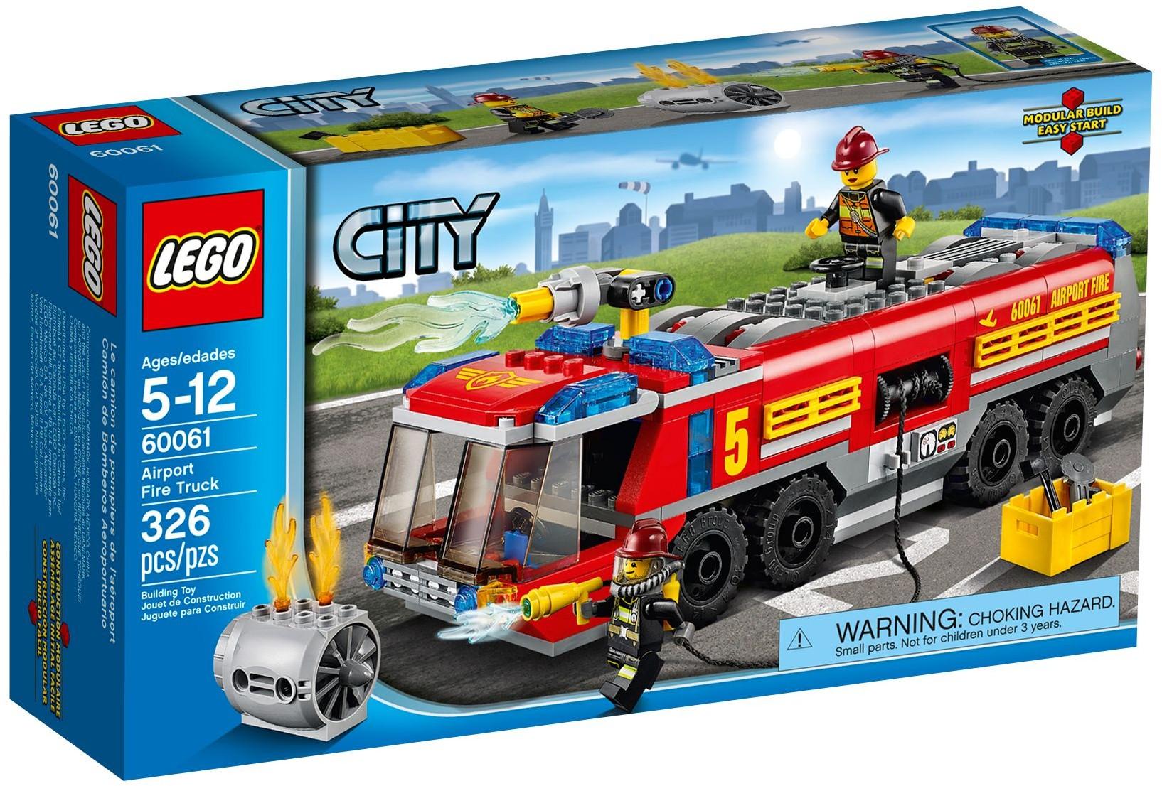 LEGO City 60061 Letištní hasičské auto