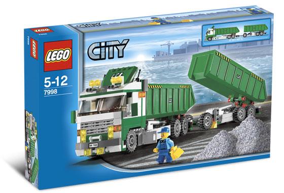 LEGO City 7998 Nákladní auto s vlekem