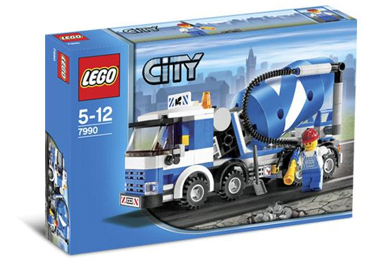 LEGO City 7990 Míchačka