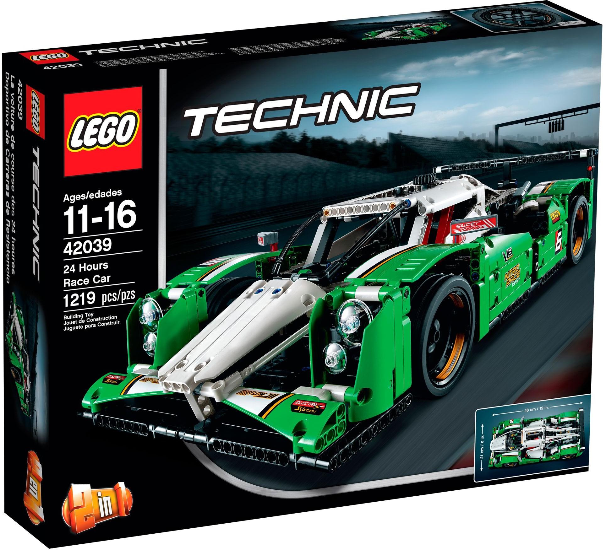 LEGO Technic 42039 GT vůz pro 24hodinový závod