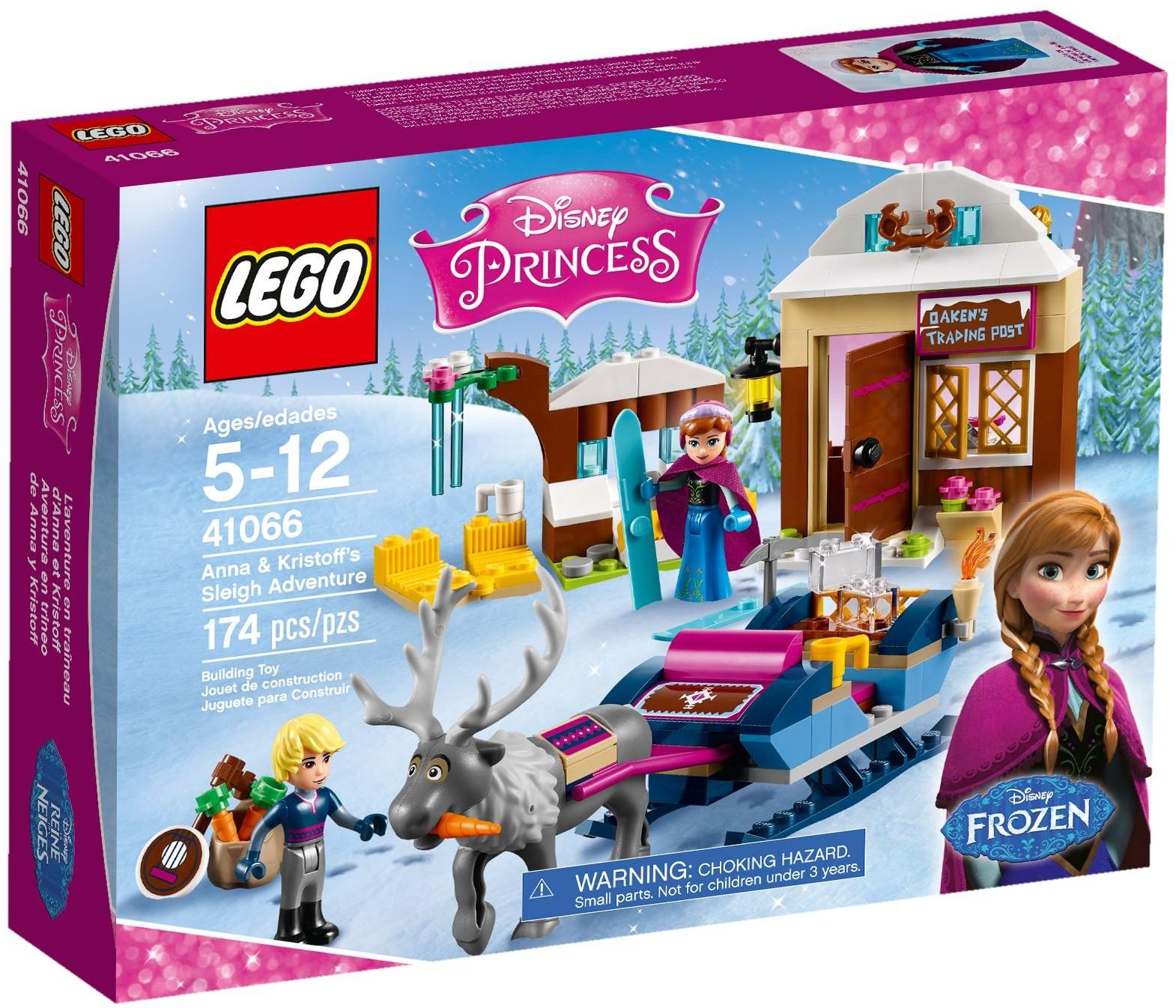 LEGO Disney Princess 41066 Anna & Kristoff's Sleigh