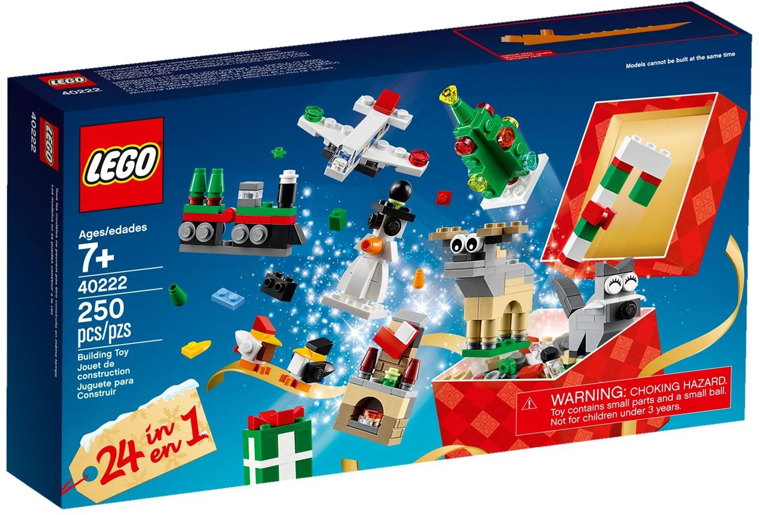 LEGO 40222 Vánoční stavění 24 v 1