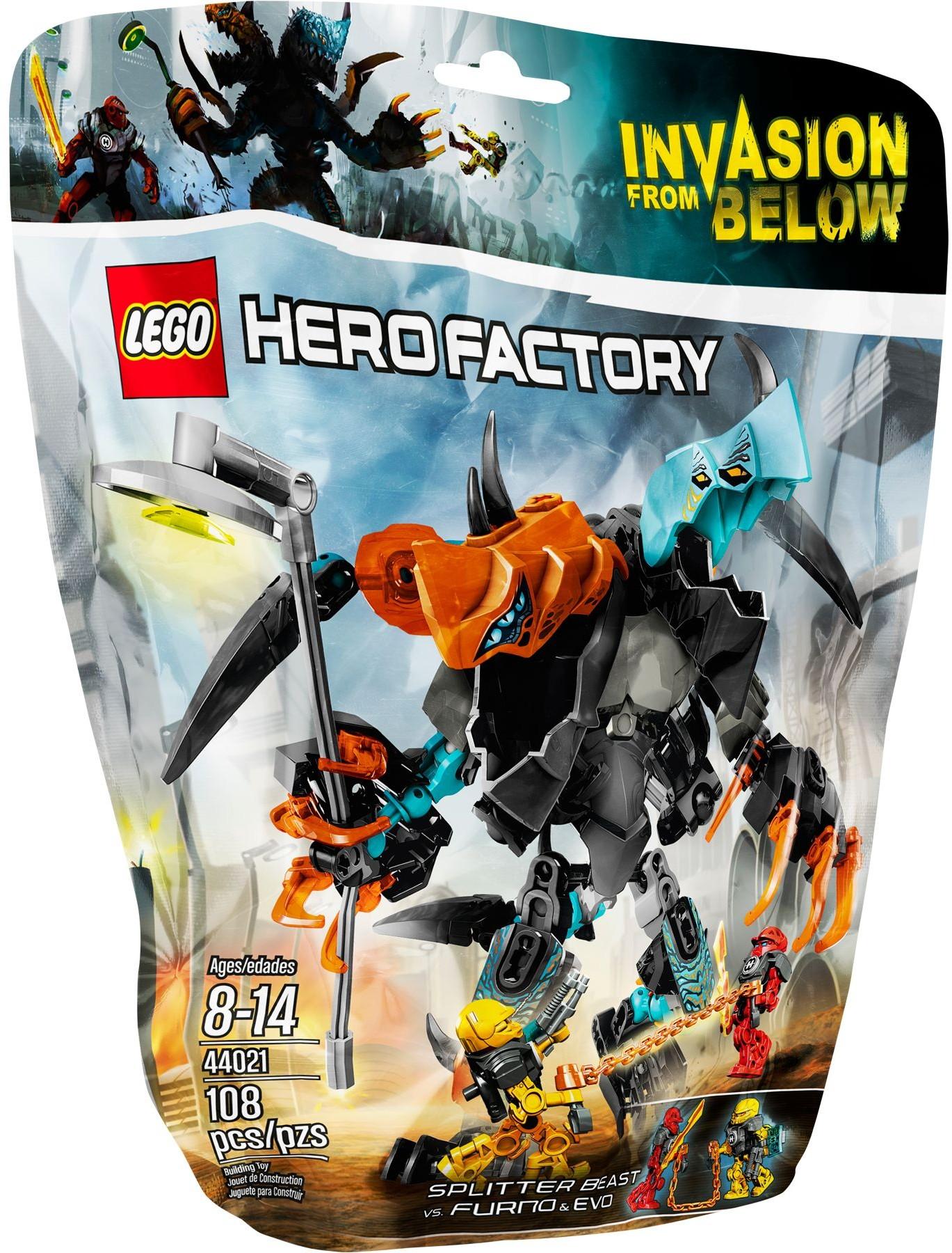 LEGO Hero Factory 44021 Dvojatec versus Furno & Evo