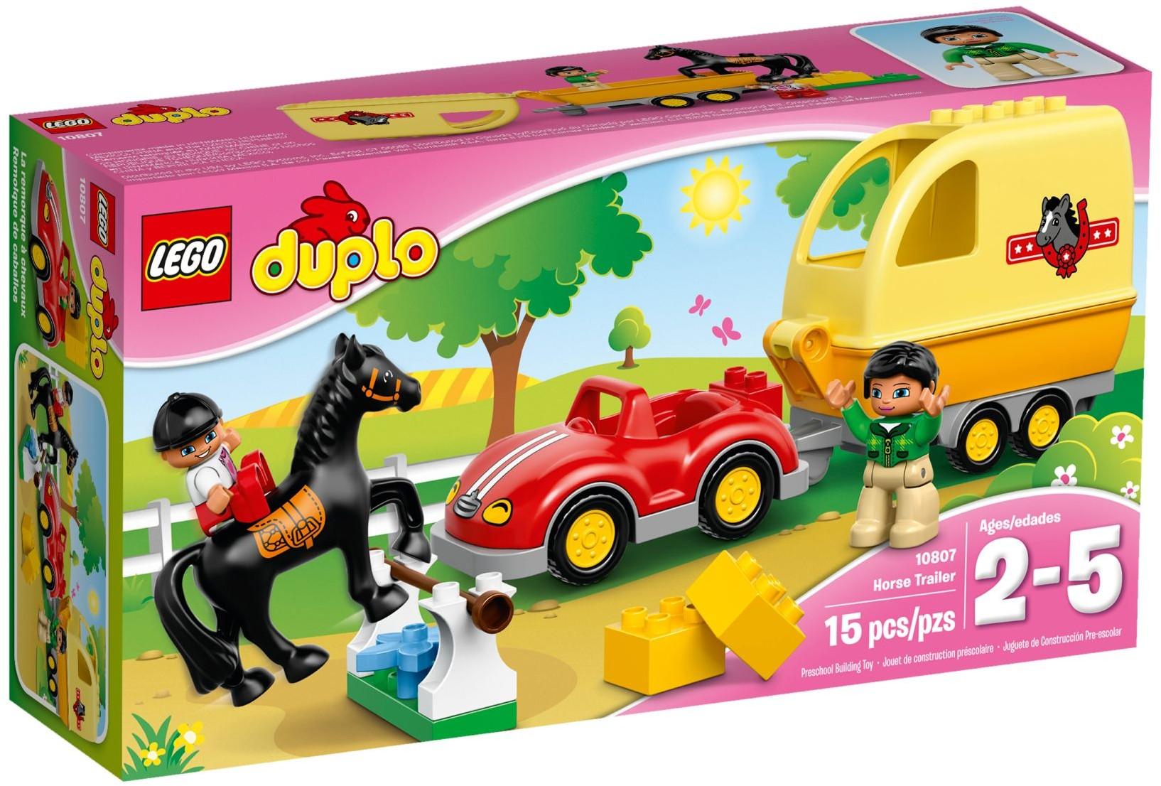 LEGO Duplo 10807 Přívěs pro koně