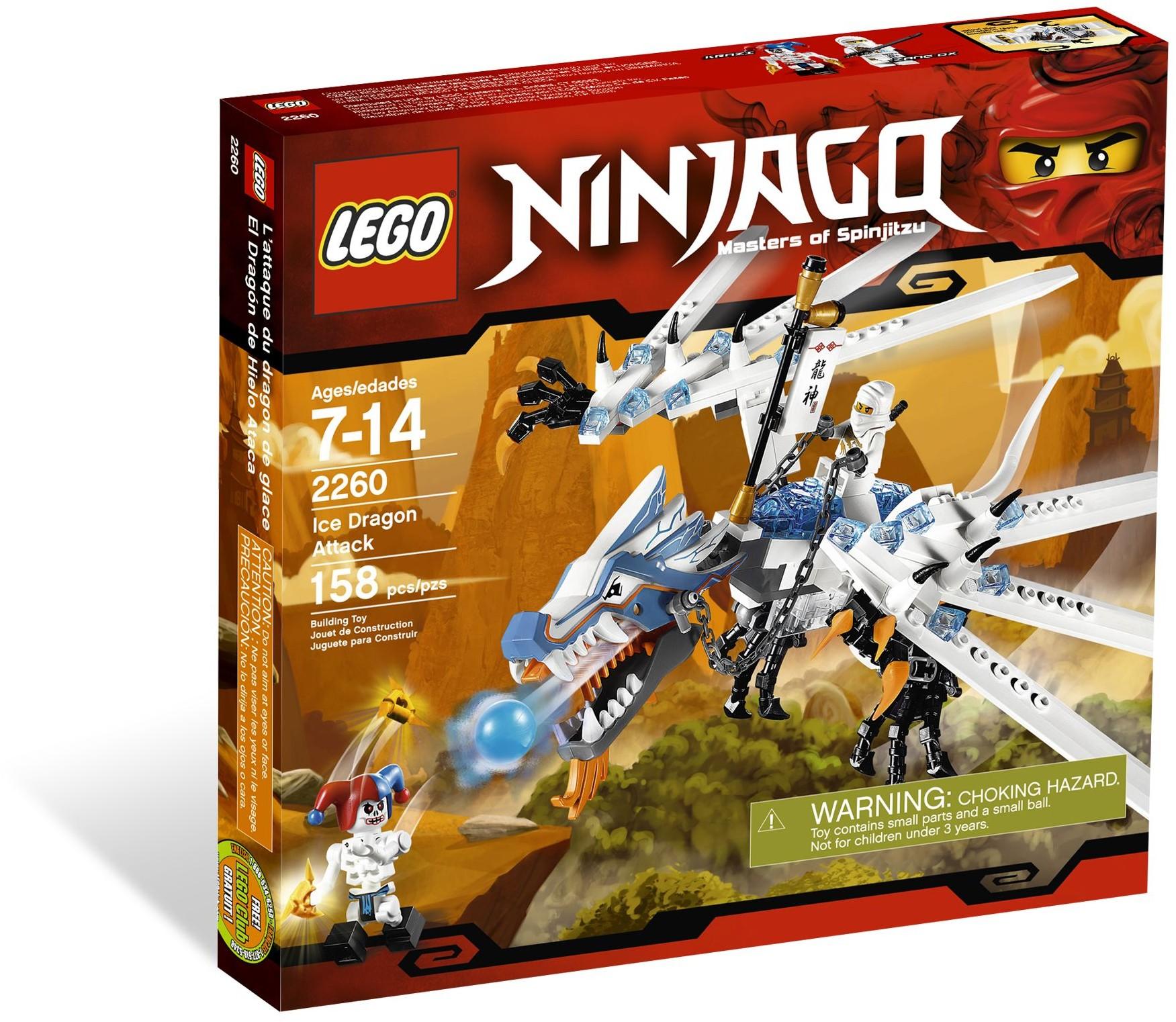 LEGO Ninjago 2260 Drak Ledu útočí
