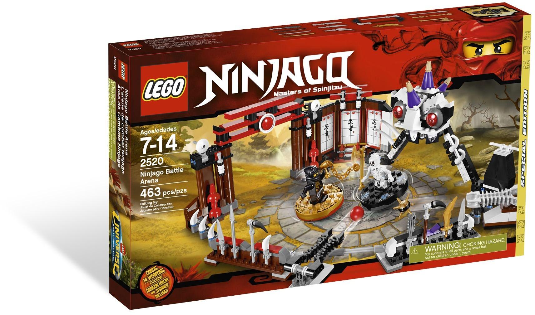LEGO Ninjago 2520 Bojová aréna