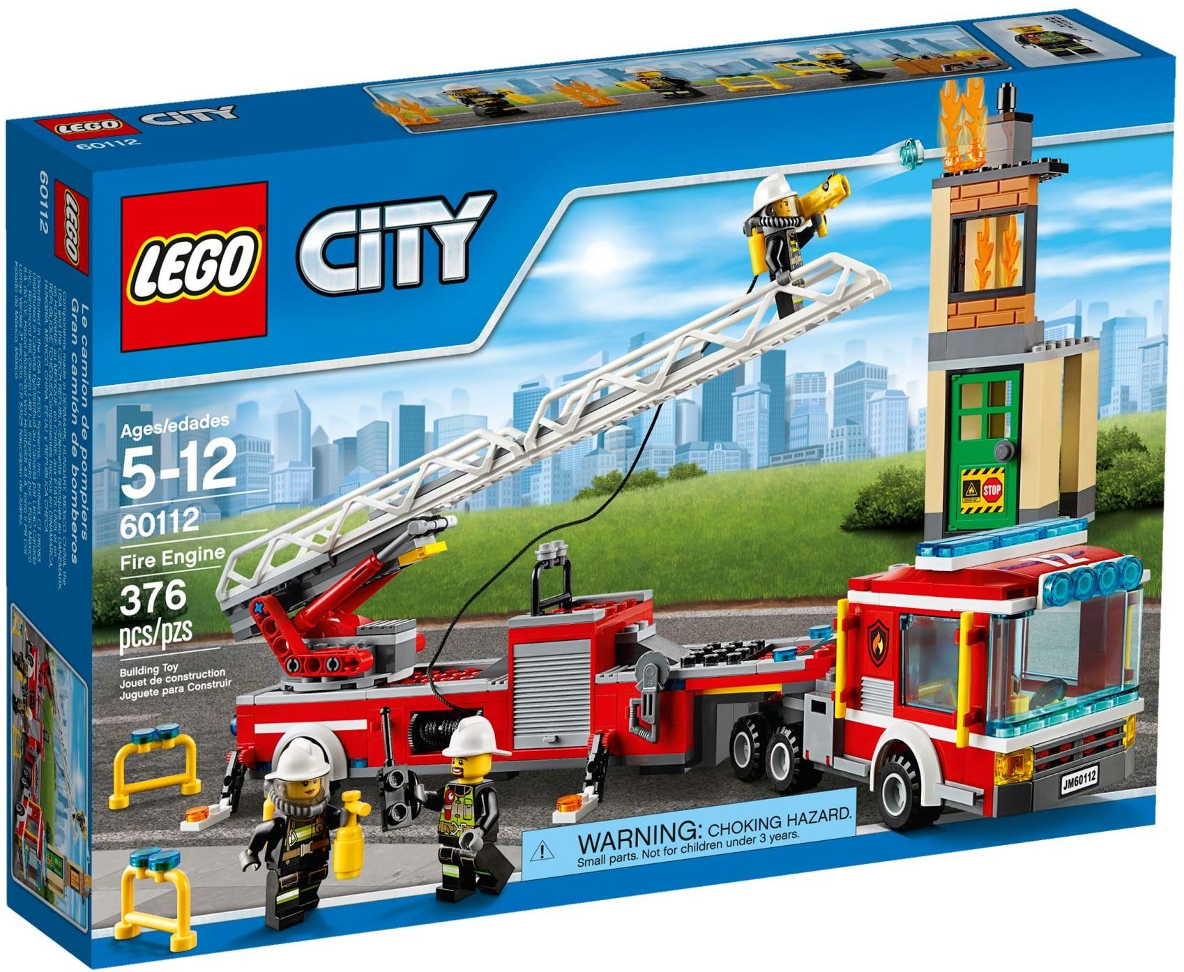 LEGO City 60112 Hasičská stříkačka