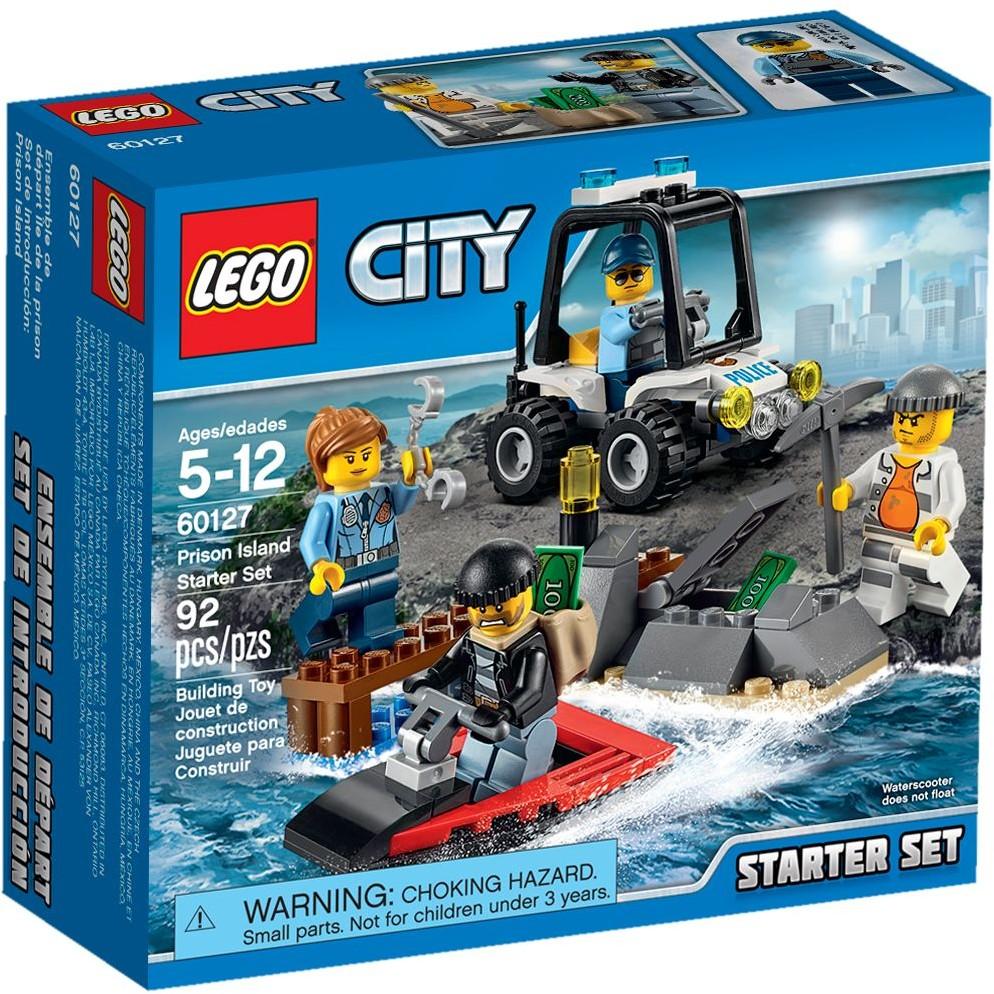 LEGO City 60127 Vězení na ostrově Startovací sada