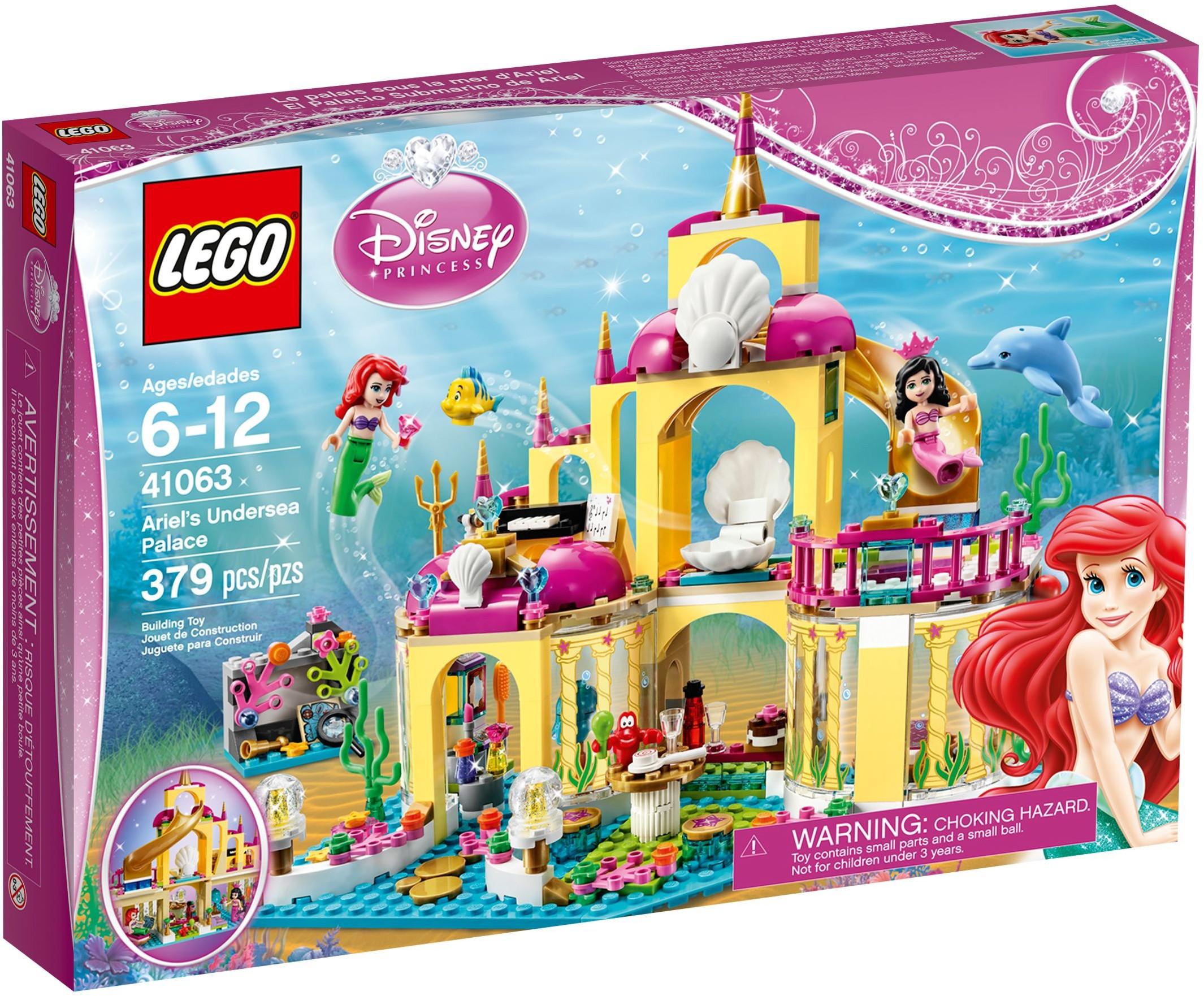 LEGO Disney 41063 Podvodní palác Ariely
