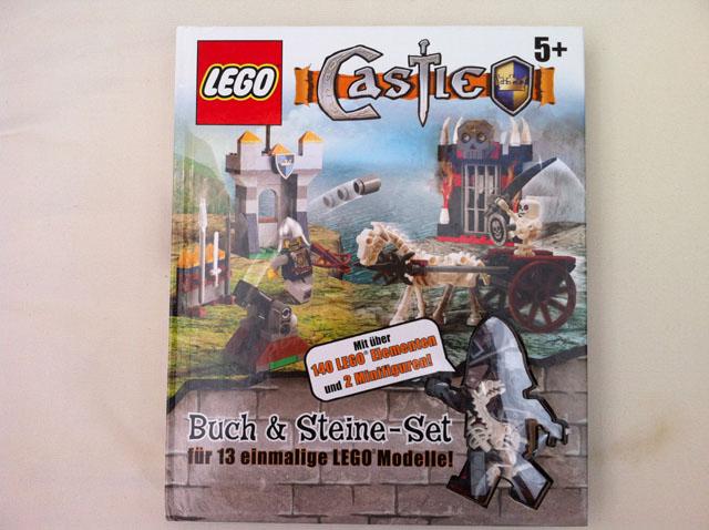 LEGO Brickmaster kniha Castle + stavebnice a 2 figurky