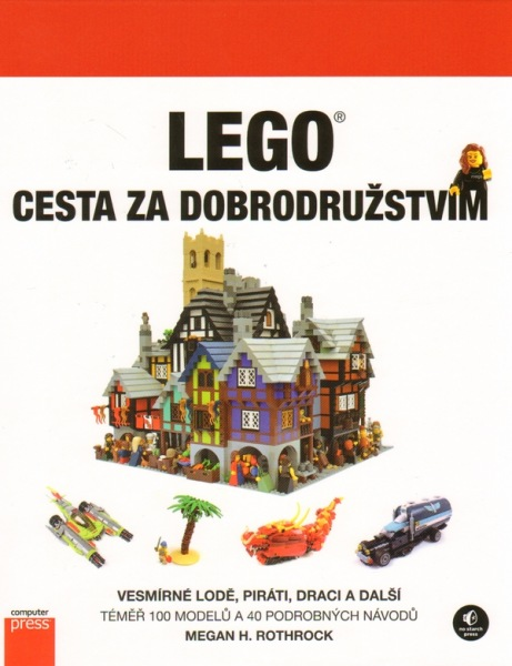 kniha LEGO Cesta za dobrodružstvím 2