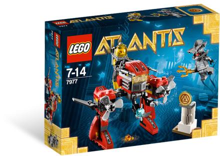 LEGO Atlantis 7977 Podmořský robot
