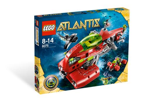LEGO Atlantis 8075 Neptunova ponorka