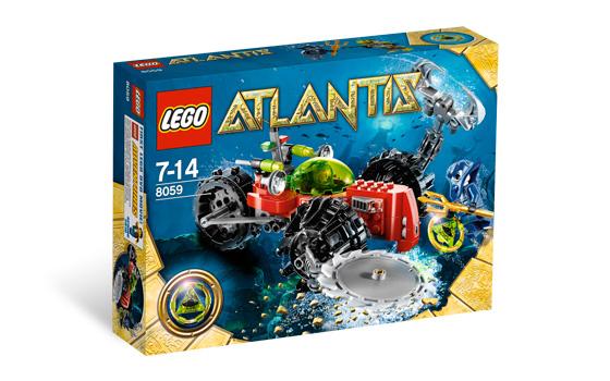 LEGO Atlantis 8059 Průzkum mořského dna