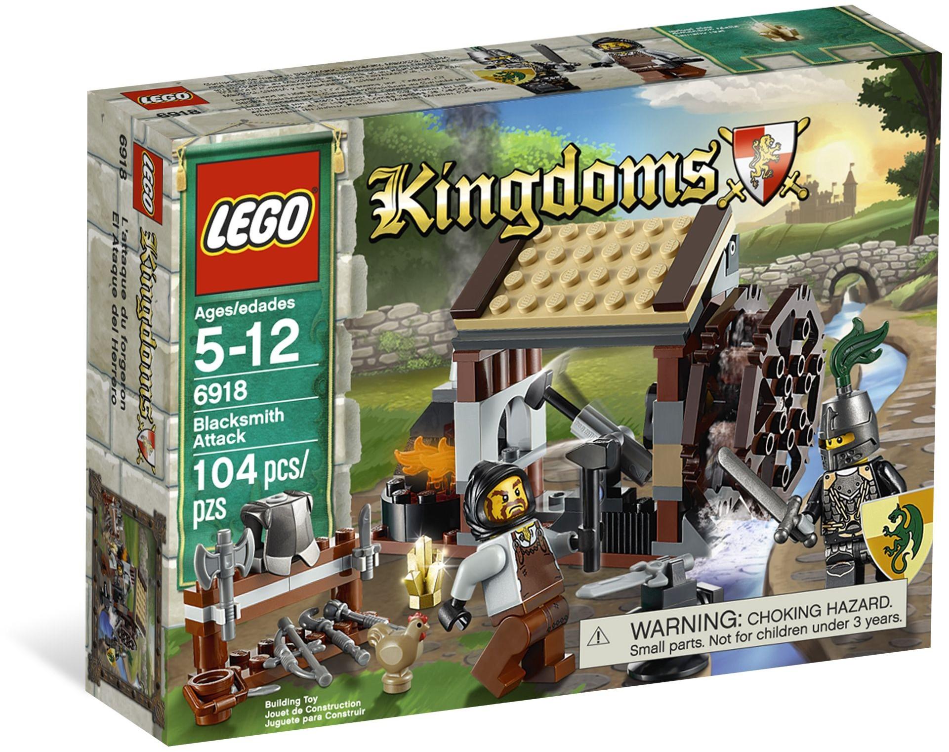 LEGO Kingdoms 6918 Napadení kovárny