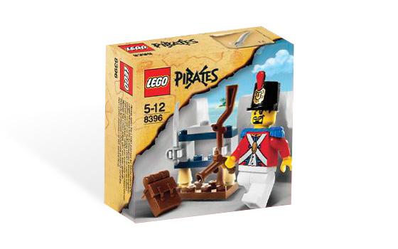 LEGO Piráti 8396 Voják a muniční sklad