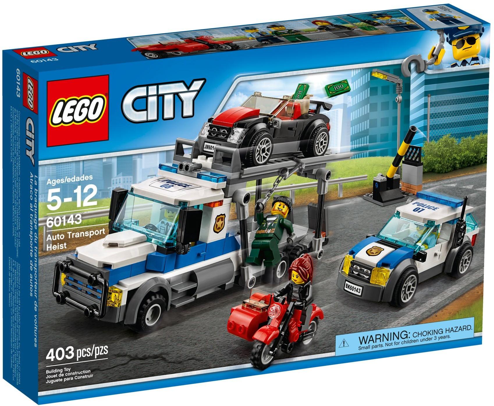 LEGO City 60143 Krádež transportéru aut