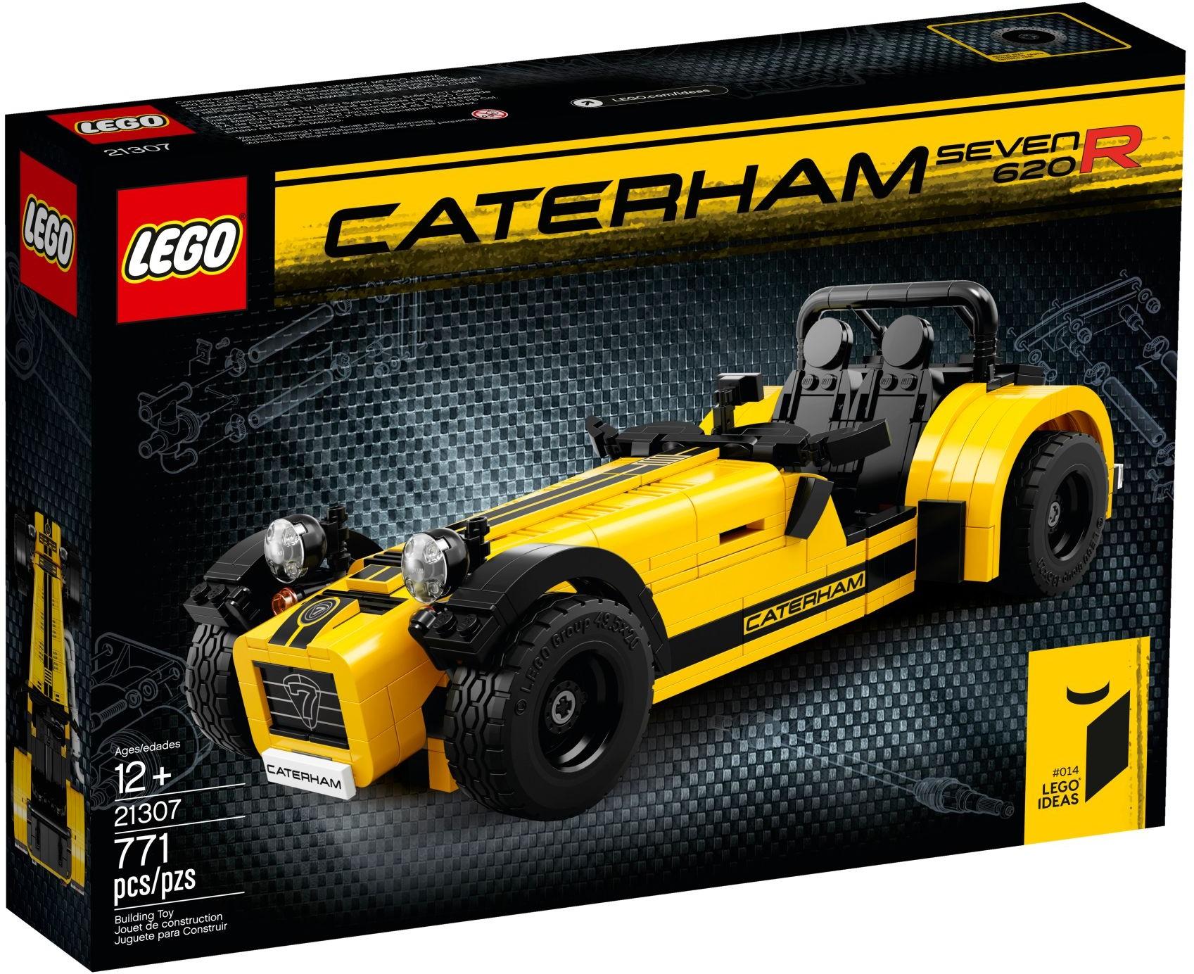 LEGO Ideas 21307 Vůz Caterham Seven 620R