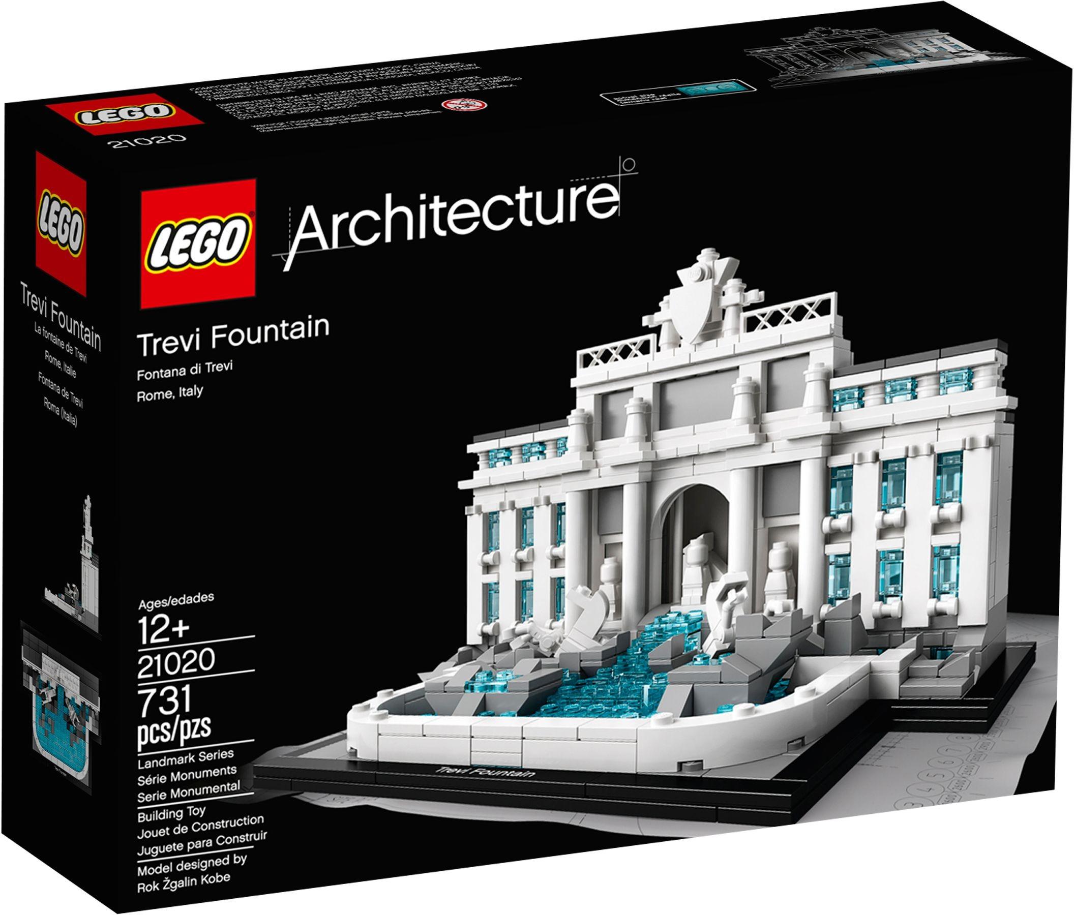 LEGO Architecture 21020 Fontána di Trevi