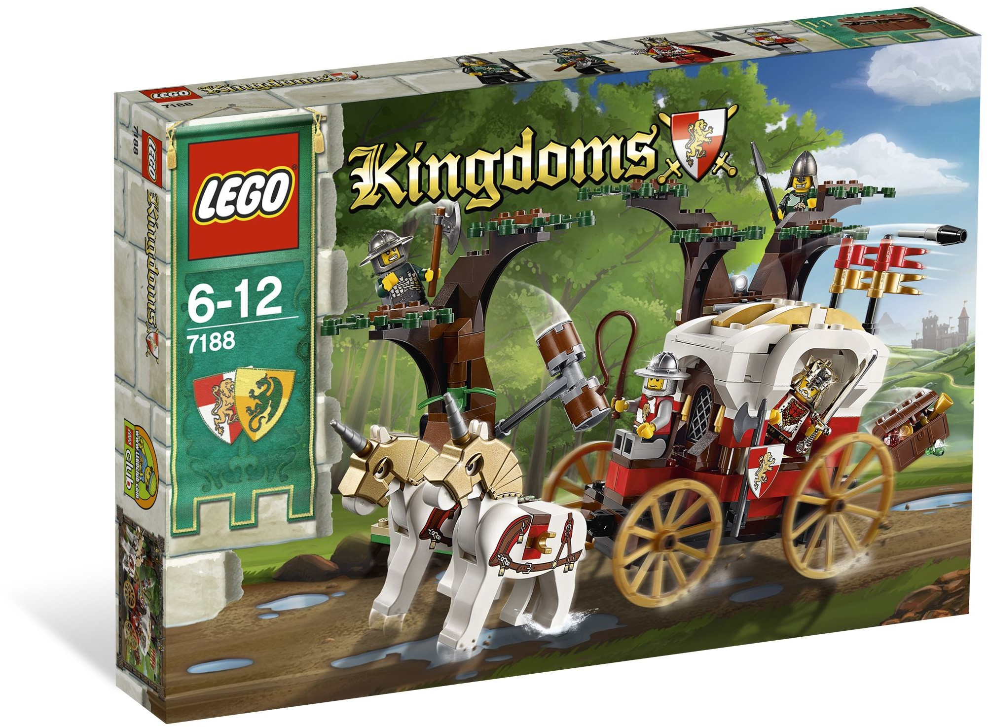 LEGO Kingdoms 7188 Přepadení královského kočáru