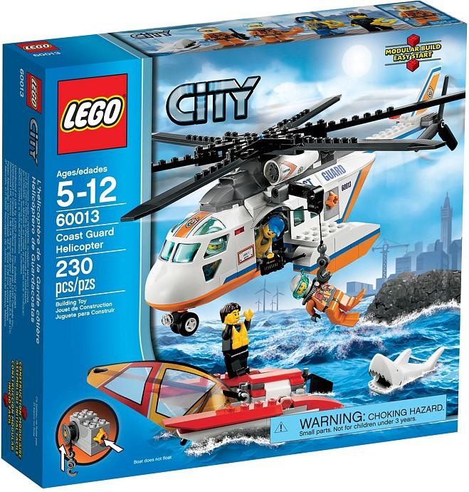 LEGO City 60013 Helikoptéra pobřežní hlídky