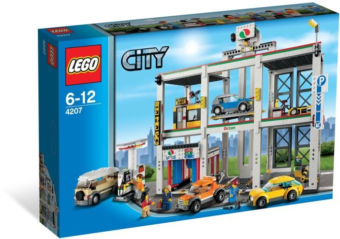 LEGO City 4207 Městské garáže