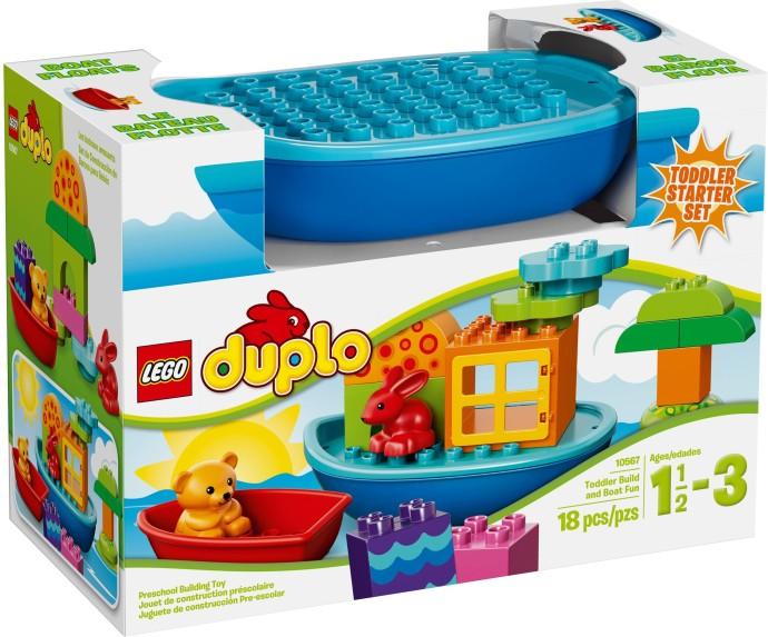LEGO Duplo 10567 Sada pro batolata - Postav si loďku