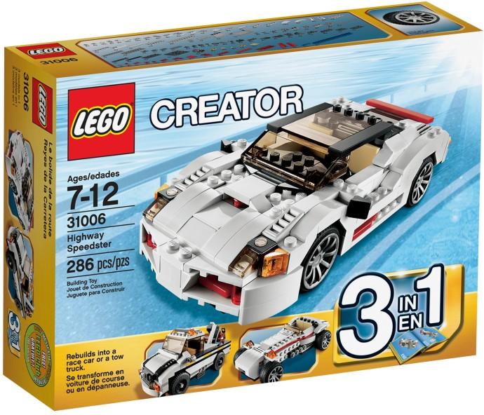 LEGO Creator 31006 Dálniční závoďák