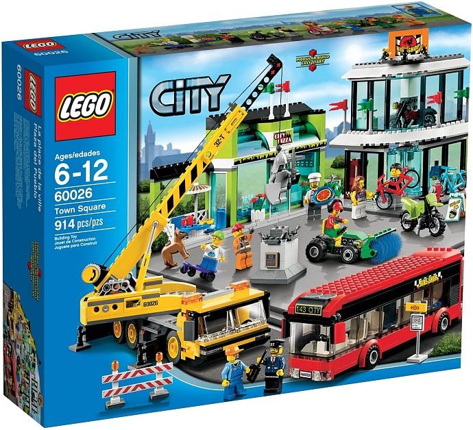 LEGO City 60026 Městské náměstí