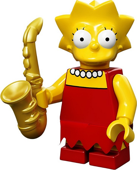 LEGO Minifigurky 71005-4 The Simpsons (Lisa Simpson)